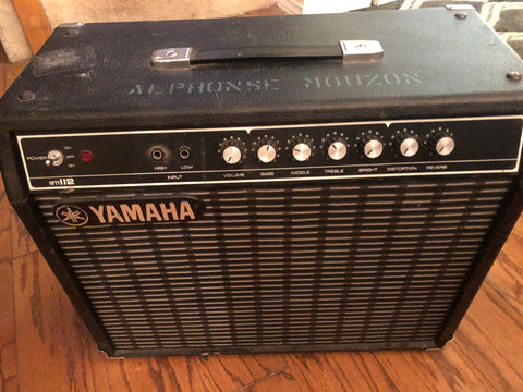 Yamaha Fifty 112 Guitar Amplifier owned by Alphonse Mouzon
