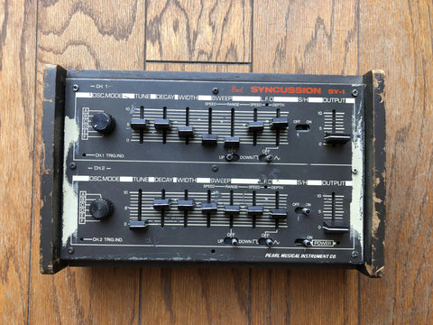 Vintage Pearl Syncussion SY-1 Owned by Alphonse Mouzon