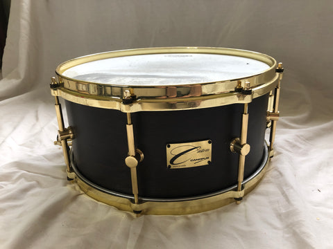 Canopus Custom Snare Drum Alphonse Mouzon Signature Prototype Owned by Alphonse Mouzon