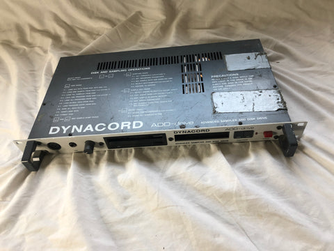 Dynacord Add-Drive Electronic Drum Sound Module owned by Alphonse Mouson