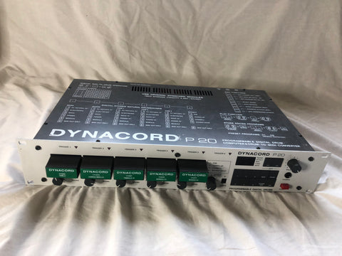Dynacord P20 Drum Module owned by Alphonse Mouzon