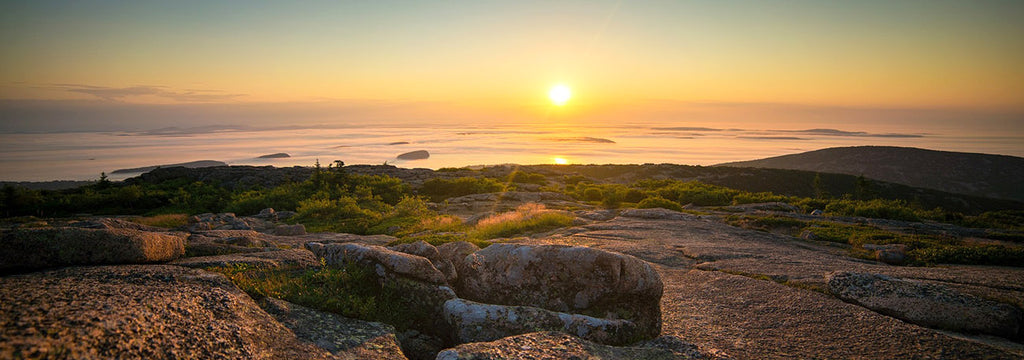 cadillac mountain sunrise acadia national park