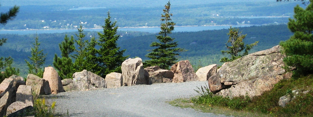 carriage roads in acadia national park