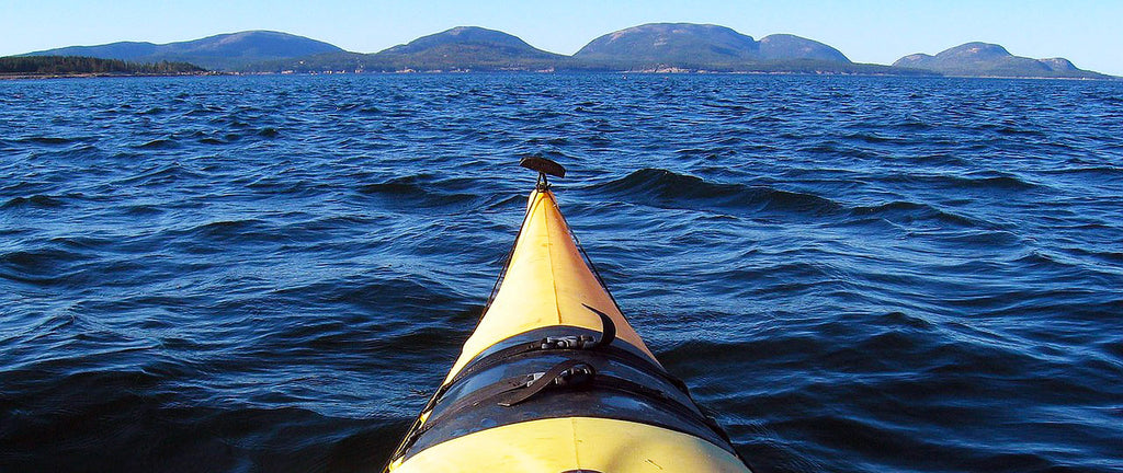 kayaking the islands around acadia national park