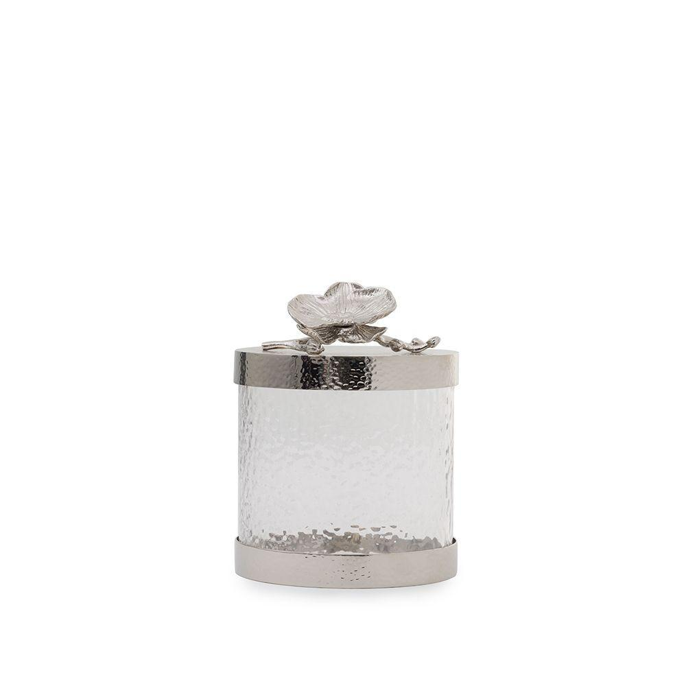 White Orchid Canister Collection