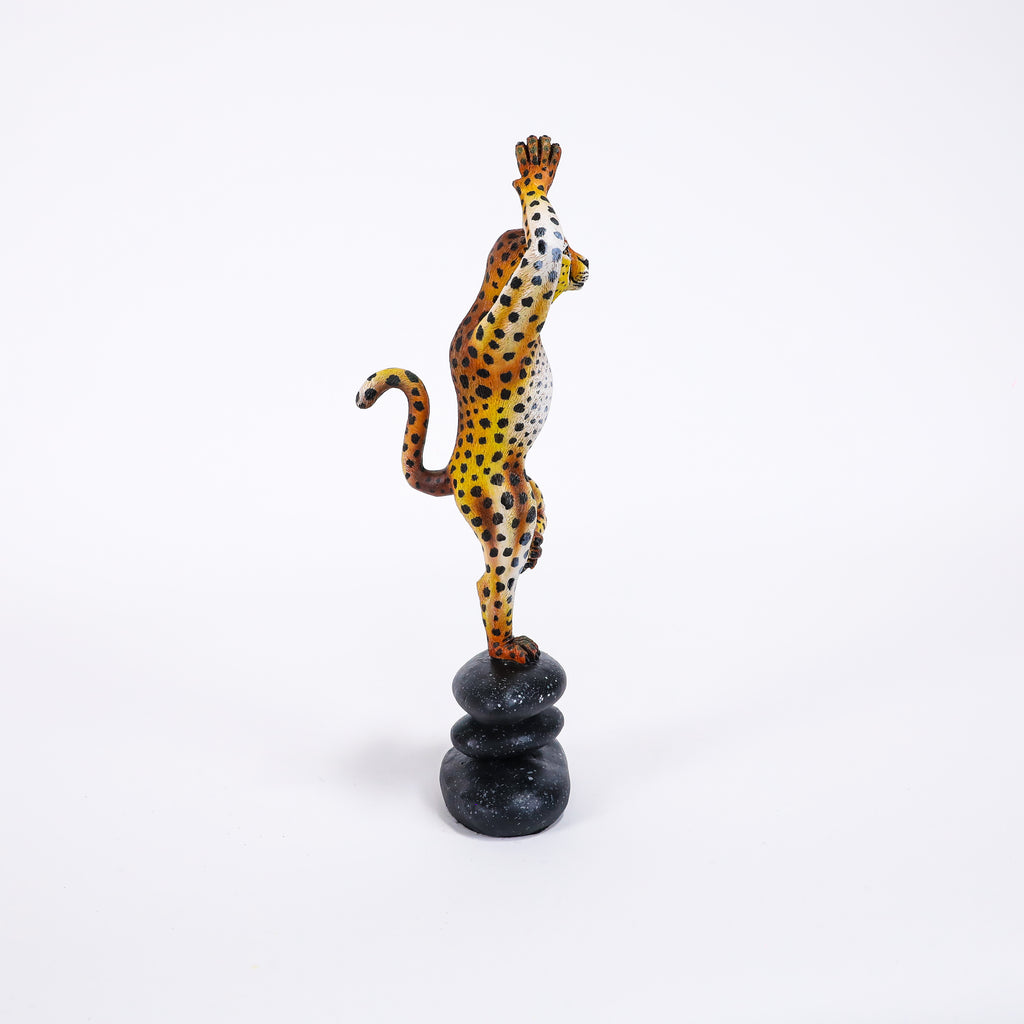 Meditating Cheetah - Mini