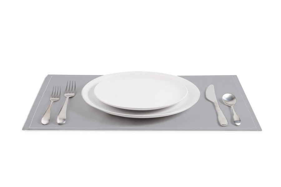 Cotton Placemat - Grey