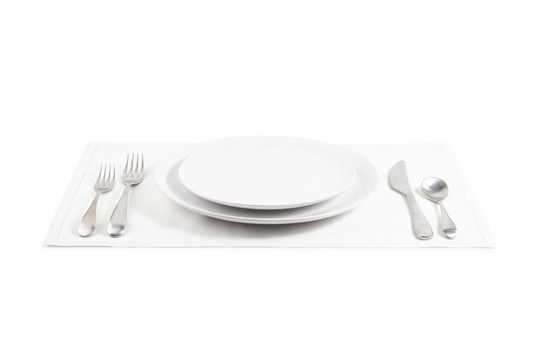 Cotton Placemat - White