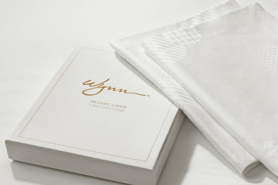 Wynn Resorts Euro Pillow Sham Gift Box