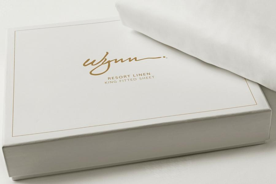 Wynn Resorts Fitted Sheets - Gift Boxed