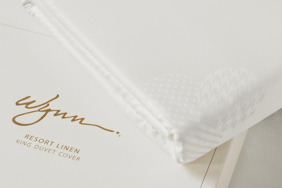 Wynn Resorts King Duvet Cover - Gift Boxed
