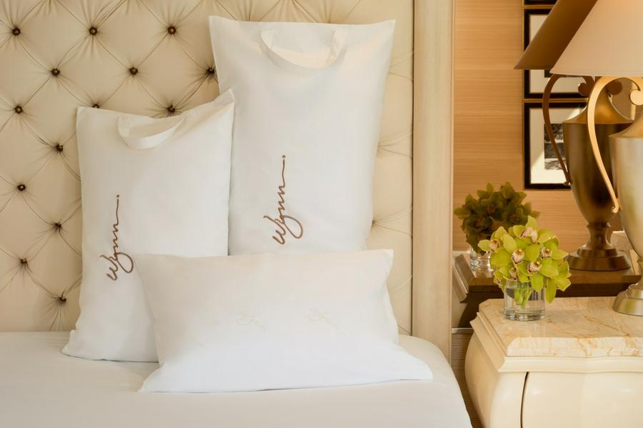 Wynn Resorts Down Pillows with Pillowcase