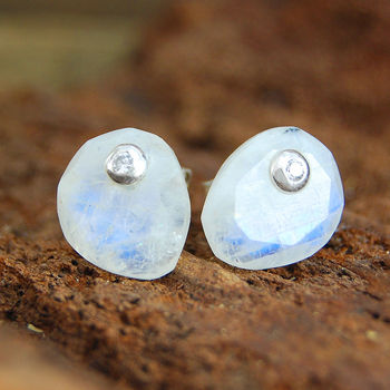 Moonstone And Labradorite Silver Jewellery Gift Set