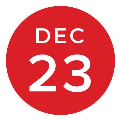 cal7 holiday shipping date