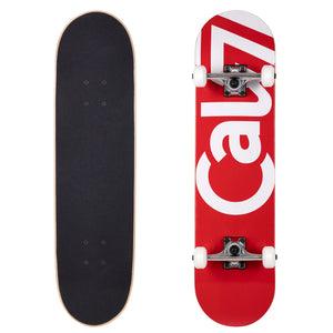 Cal 7 Red Tundra Complete 8.0 Inch skateboard