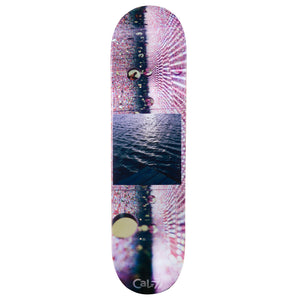cold pressed cal 7 skateboard deck with water graphics