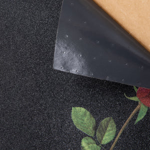 Cal 7 black Fallout griptape with rose graphic