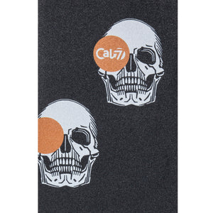 Cal 7 black skateboard griptape with memento design