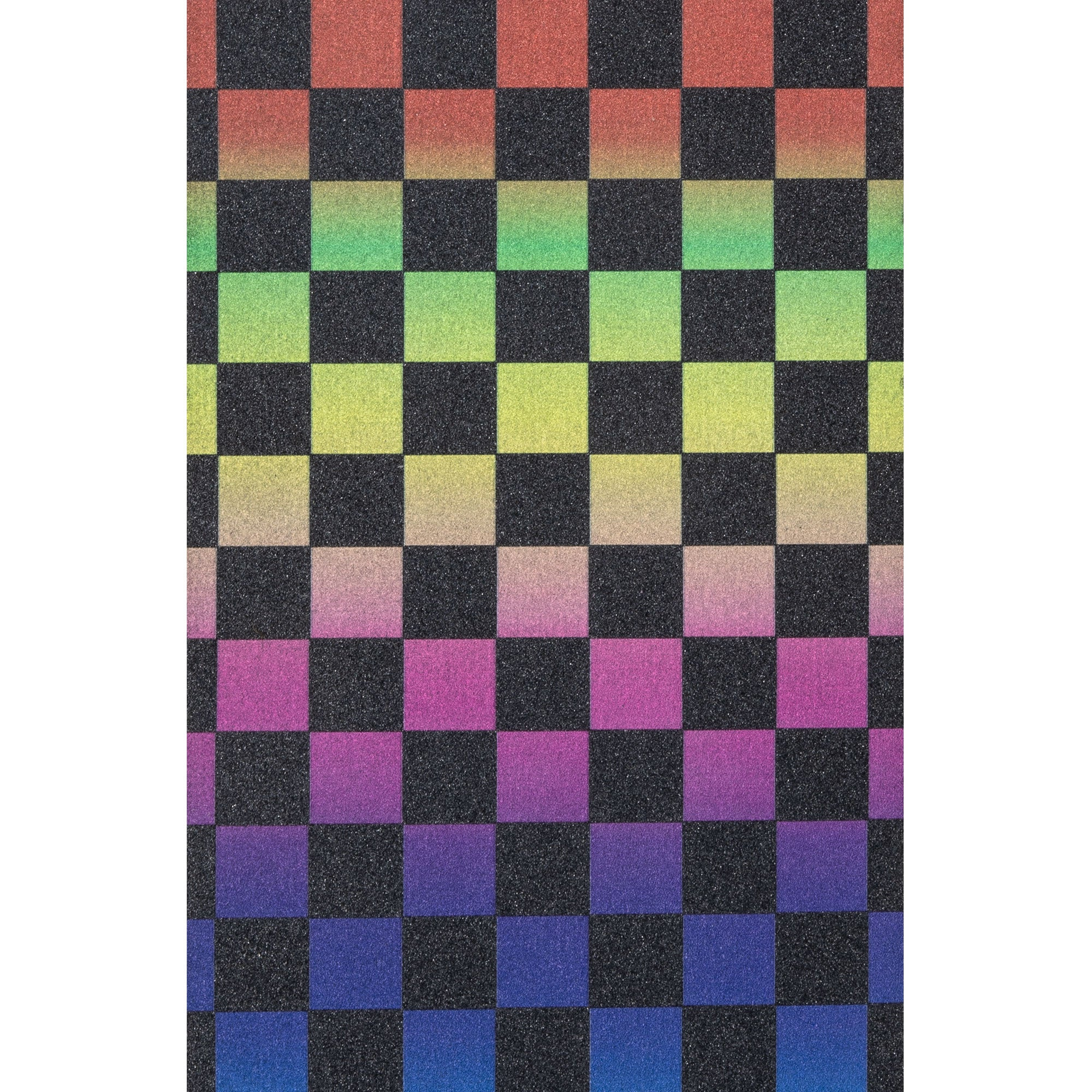 Rainbow Checkerboard Griptape