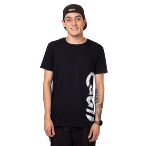 Black Short-Sleeve Street Tee