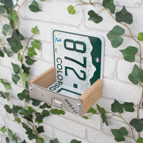 Bird Feeder, Colorado License Plate Bird Feeder, Can be personalised - Wudwerx