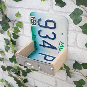 Bird Feeder, Missouri License Plate Bird Feeder, Can be personalised - Wudwerx
