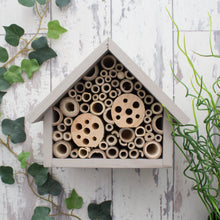 Bee Hotel, Bee House, Large, in 'Muted Clay'. Can be personalised. - Wudwerx