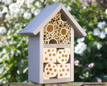 Insect House, Bee Hotel, Bug Box, Wildlife House in 'Muted Clay'.