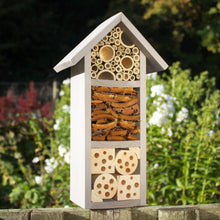 Bee and Insect Hotel, three tier, in 'Muted Clay'. Can be personalised - Wudwerx