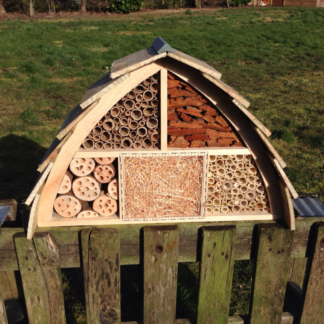 Insect House Bee Hotel Bug Box Wudwerx