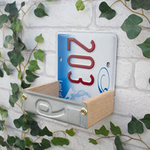 Bird Feeder, Illinois License Plate Bird Feeder, Can be personalised. - Wudwerx