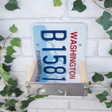 Bird Feeder, Washington License Plate Bird Feeder, Can be personalised. - Wudwerx