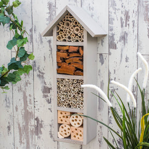 Four Tier Bee Hotel, in 'Muted Clay'. - Wudwerx
