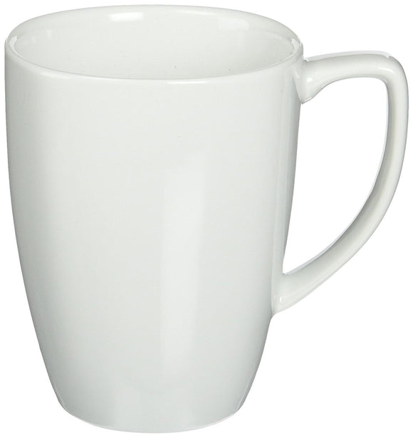 Corelle Square 12-Ounce Mug, Pure White
