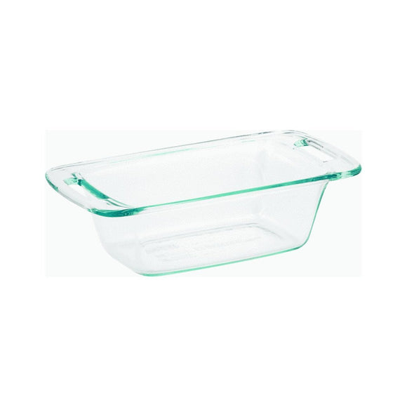 Pyrex 1.5 Quart Loaf Dish, Easy Grab Series