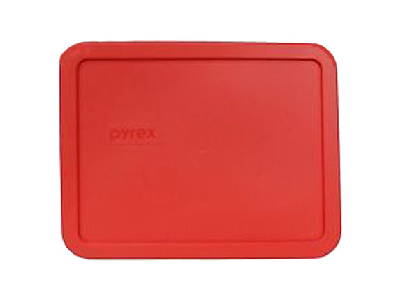 Pyrex Red 6-cup Rectangular Plastic Cover 7211-pc (Multiple Colors)