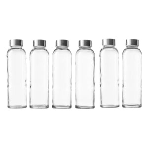 Seacoast - 18 Oz Glass Juice Bottle, With Regular Caps