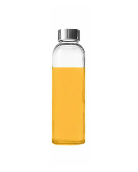 Seacoast - 18 Oz Glass Juice Bottles With Regular Caps (Sets Available)