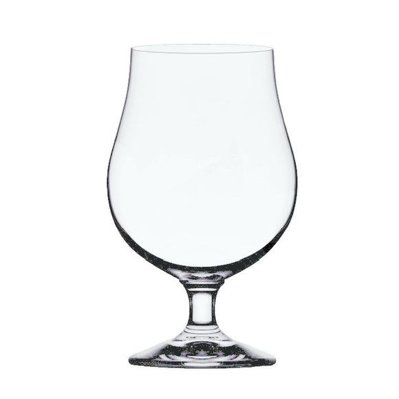 Anchor Hocking Stolzle Berlin Beer Crystal Glass, 16 Oz, Set of 4
