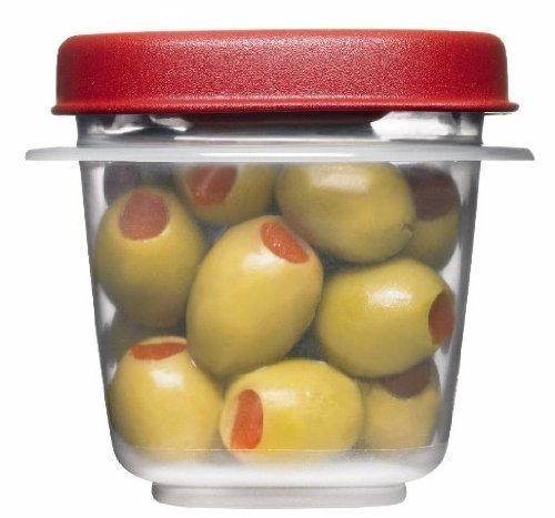 Rubbermaid Easy Find Lids Square 1/2-cup Food Storage Container