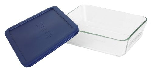 Pyrex Simply Store 6-Cup Rectangular Glass Food Storage Dish