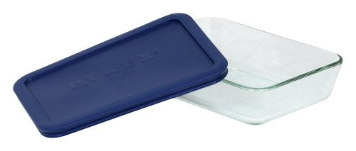 Pyrex Simply Store 3-Cup Rectangular Glass Food Storage Dish