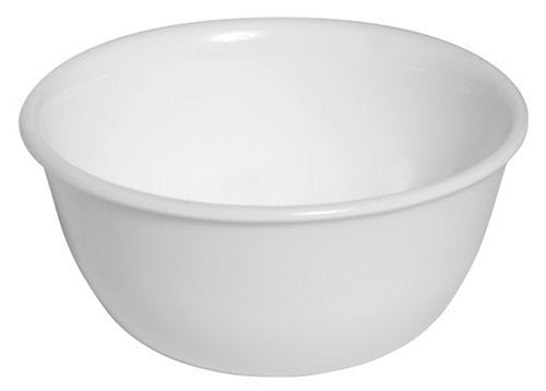 Corelle Livingware 12-Ounce Soup/Dessert bowl, Winter Frost White