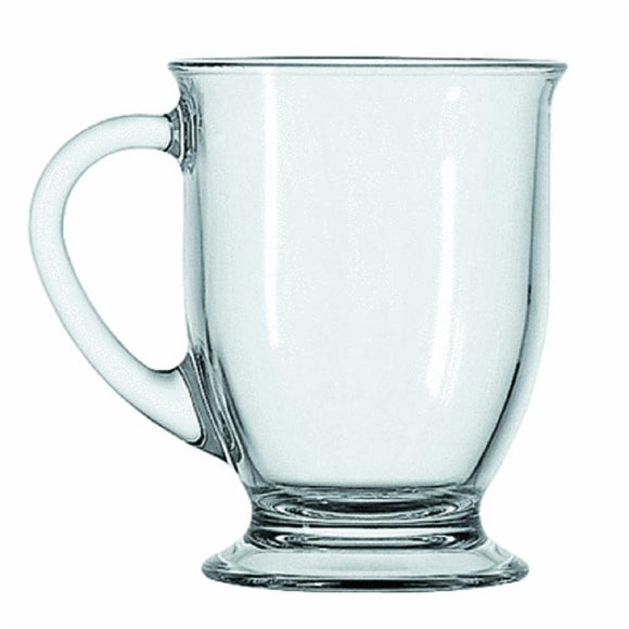 Anchor Hocking Cafe Coffee Mug, 16 Oz (Single)