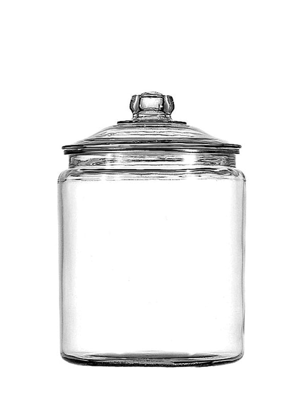 Anchor Hocking Heritage Hill 0.5 Gallon Glass Storage Jar