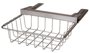Rubbermaid Slide-Out Under-Shelf Storage Basket, Titanium