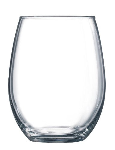 Luminarc Cachet Stemless Wine Glass, 15 Ounce (Single)