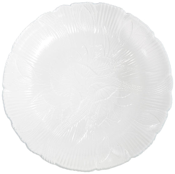 Luminarc Floral Leaf 7.5 Inch Dessert Plate (Single)