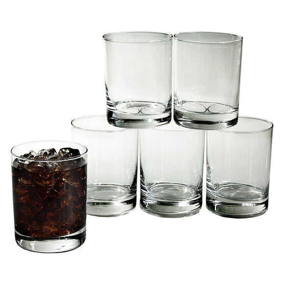 Luminarc Double Old Fashion Glass Tumbler, 13.25 Oz (Set of 6)