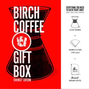 Best Gift Ever - Birch Coffee Gift Set!